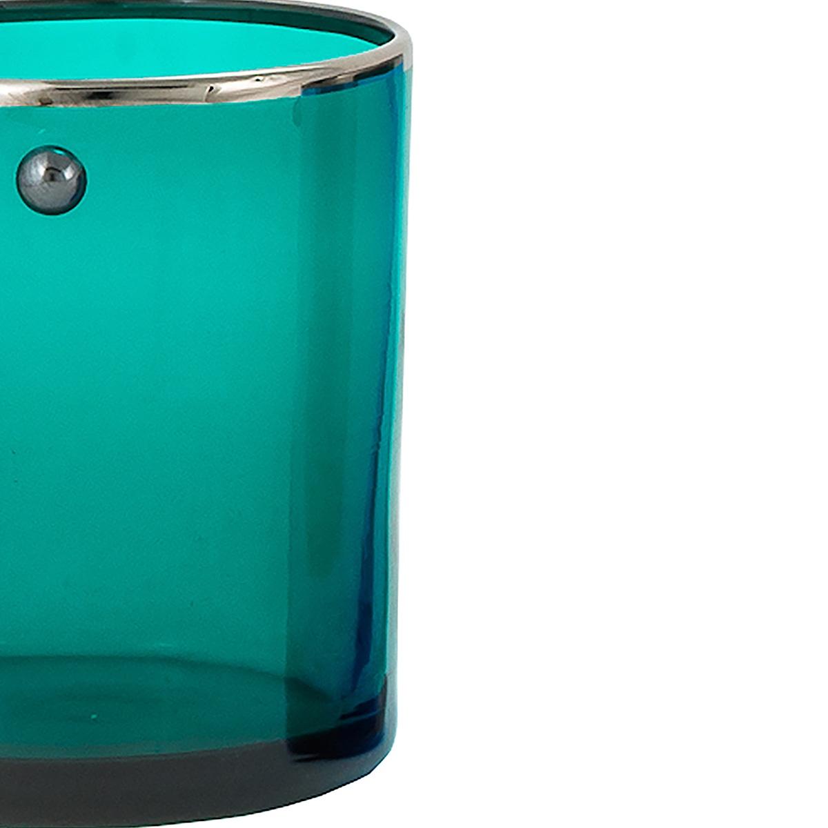 JAI-shot-glass-green-platinum-rim-murano-vodka-venice-handmade-luxury