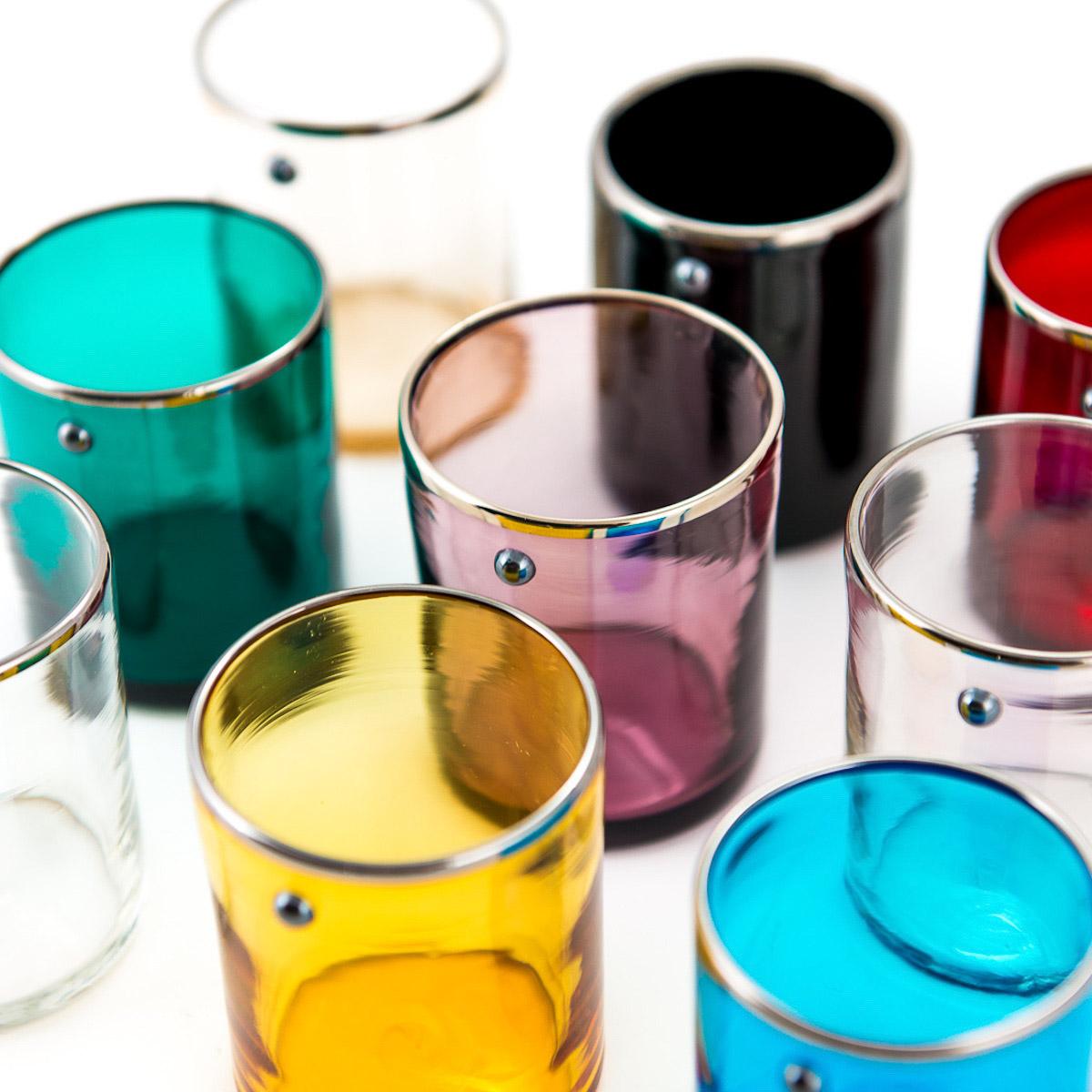 JAI-shot-glass-light-amethist-murano-vodka-venice-handmade-platinum-rim