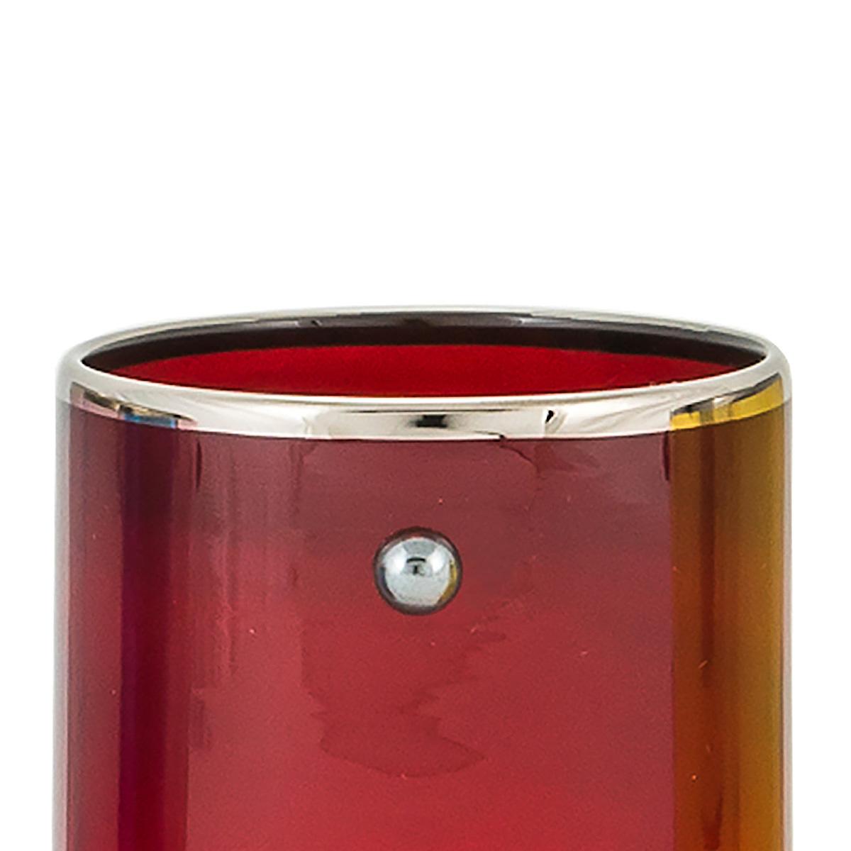 JAI-shot-glass-red-murano-vodka-venice-handmade-luxury-rim-platinum