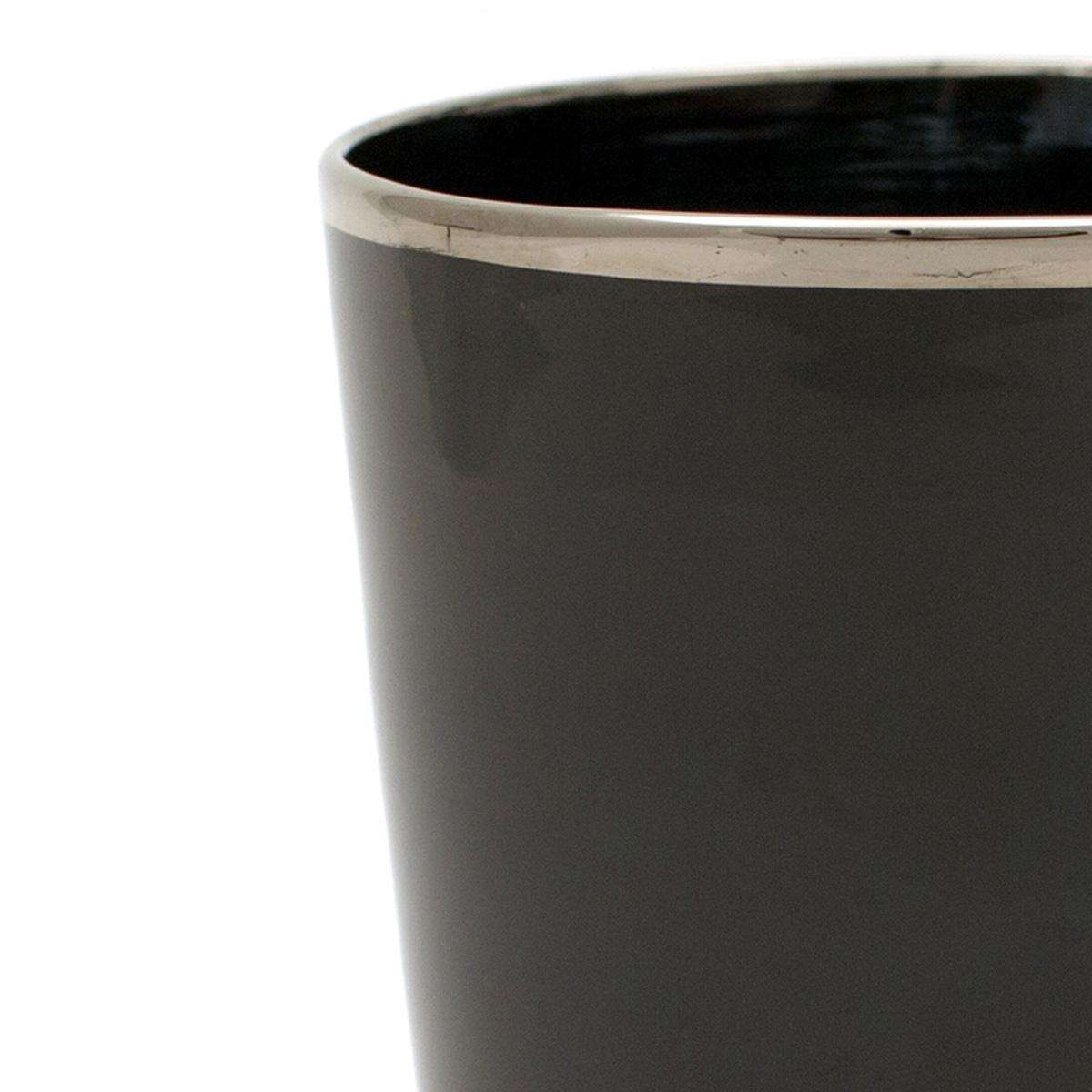 drink_vaso_glass_luxury_interior_design_murano_handmade_black platinum_detail