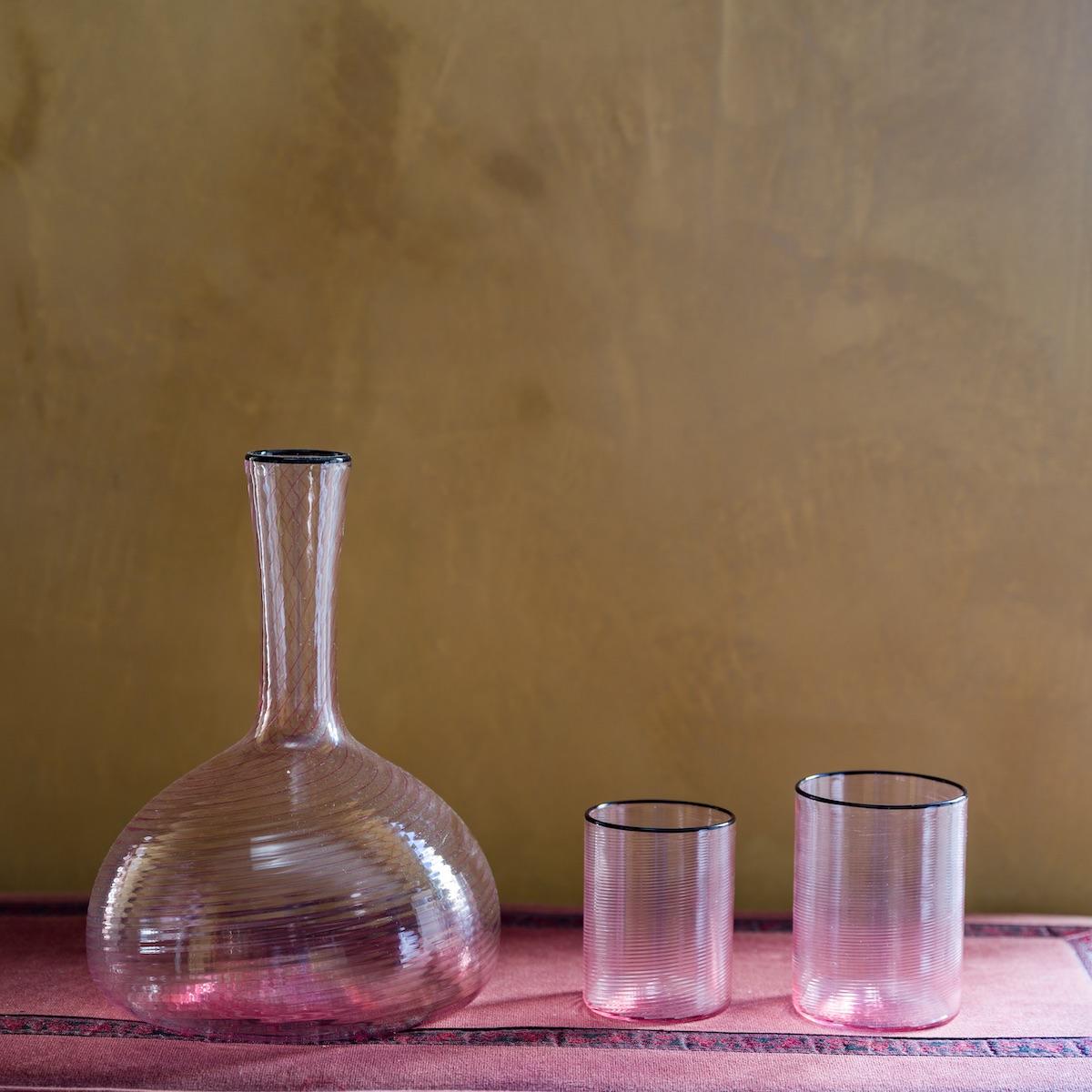 fizzy-jug-pink-murano-glass-water-feminine