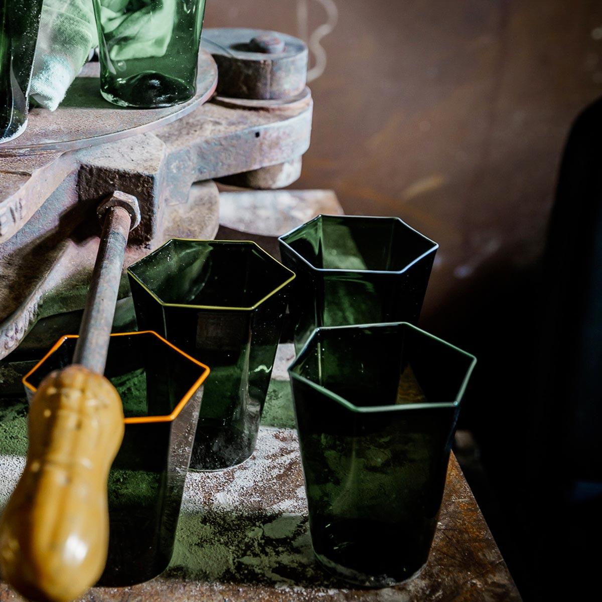 laguna-glass-green-green-rim-giberto-handmade-murano-water