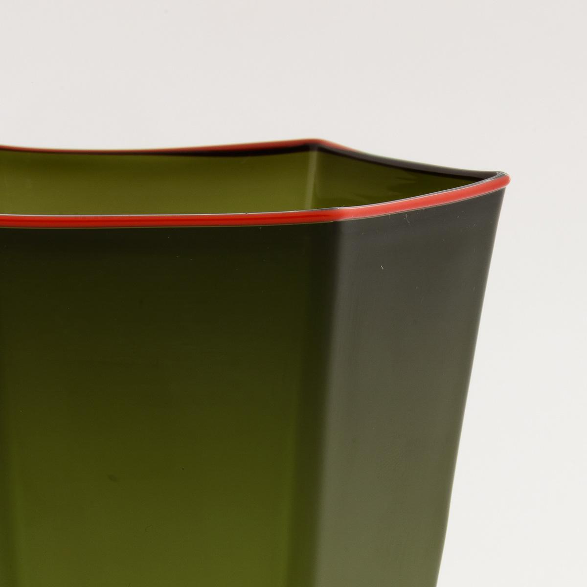 laguna-glass-green-red-rim-giberto-handmade-murano-wine-luxury