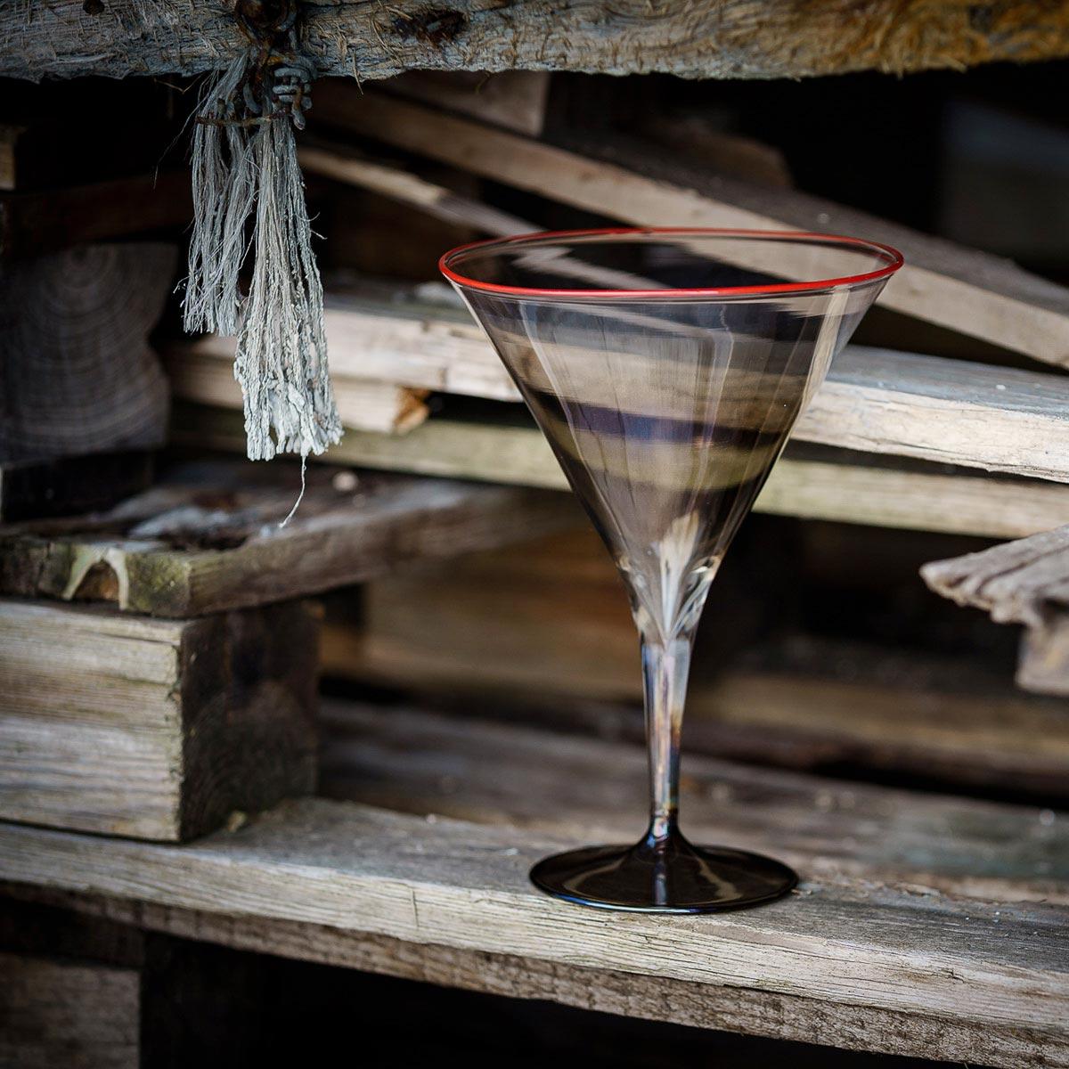 martini-fume-grey-red-rim-murano-designer-enrique