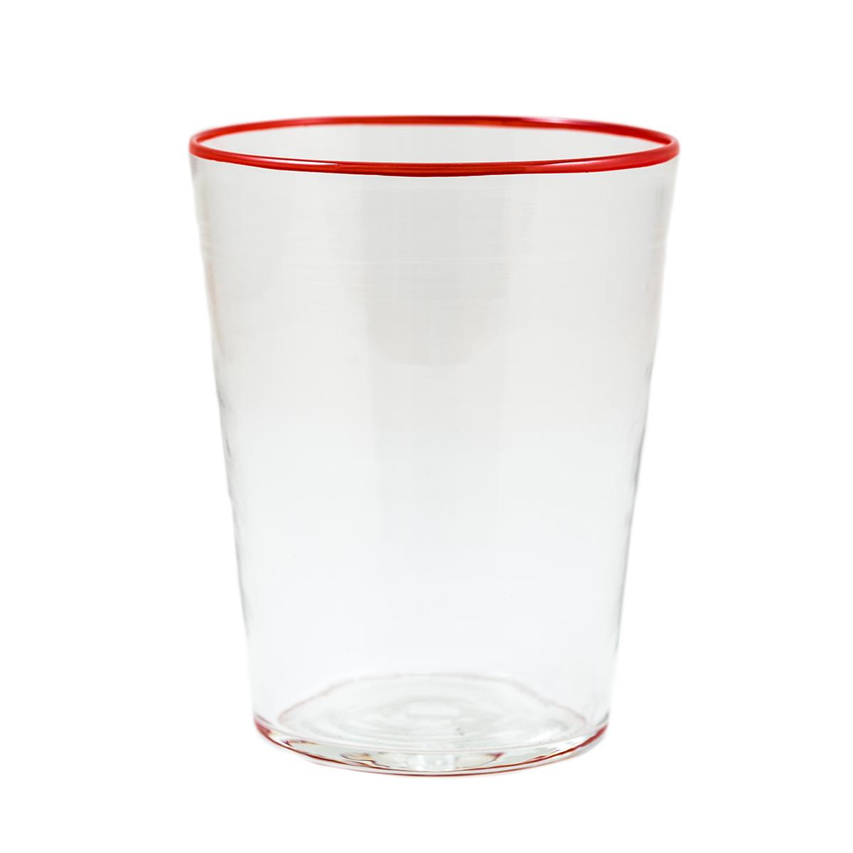 summer-vaso-glass-murano-red-rim-crystal-design-giberto-venice