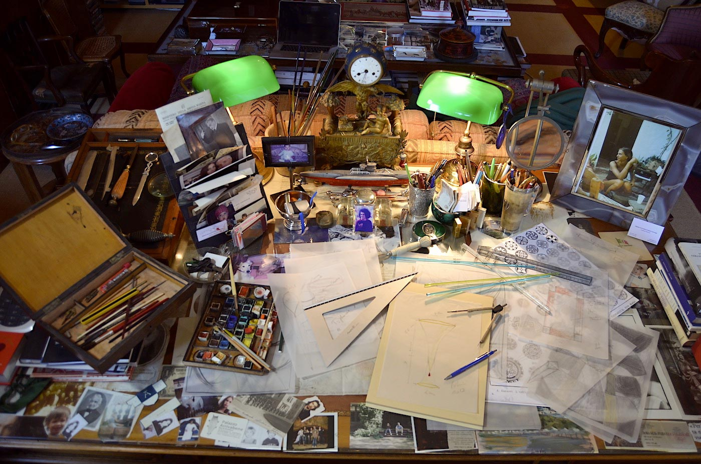 Giberto Arrivabene Studio Desk