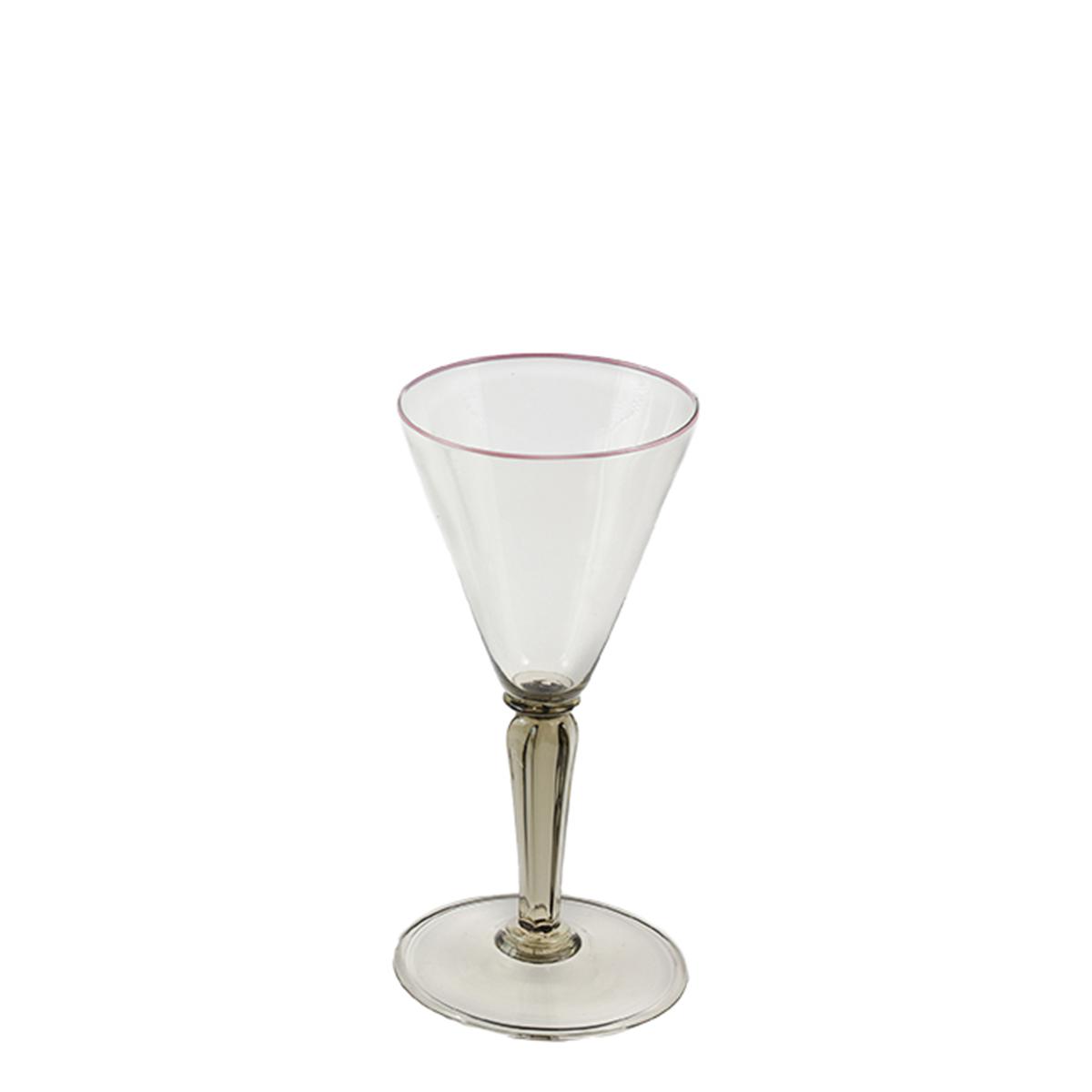 tulipano_glass_design_murano_handmade_venice_giberto_cocktail_wine_pink_rim