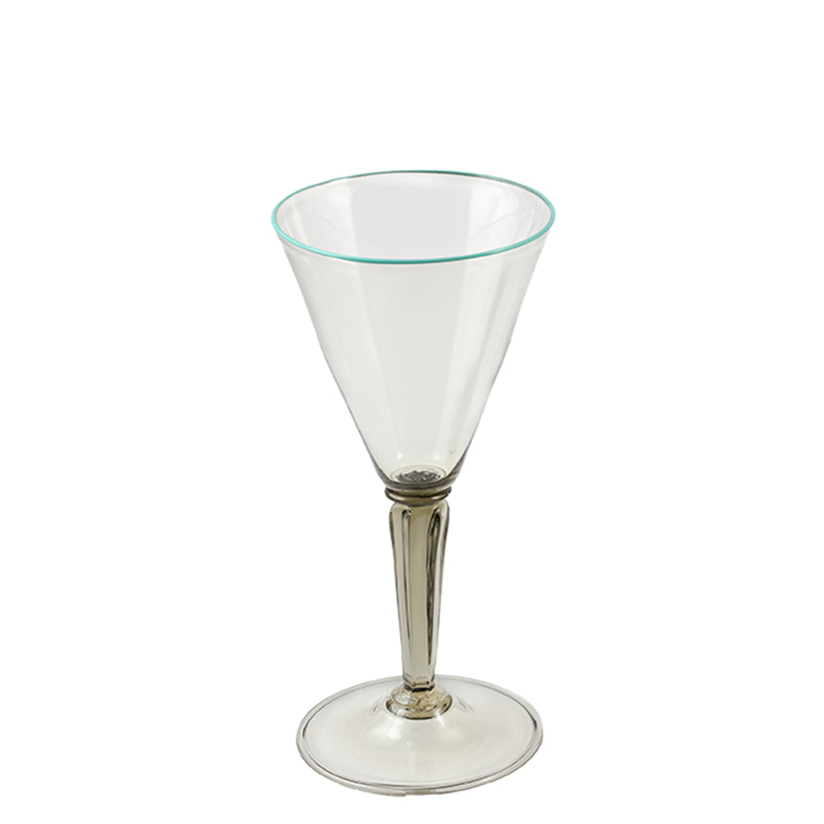 tulipano_glass_murano_handmade_venice_giberto_cocktail_water_blue_rim_luxury