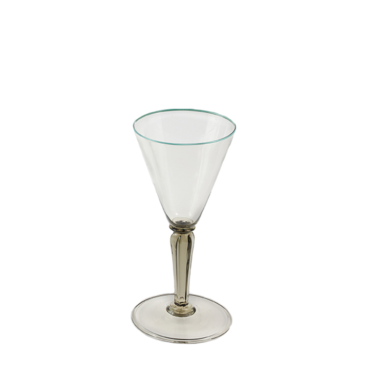 tulipano_glass_murano_handmade_venice_giberto_cocktail_wine_blue_rim_luxury