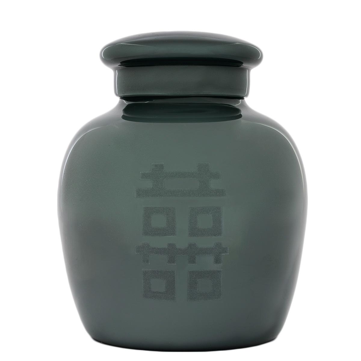 vaso-cinese-chinese-vase-grey-murano-handmade