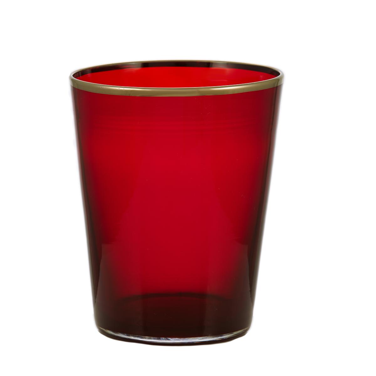 vaso-glass-giberto-colorful-platinum-red-passion-luxury-design-venice