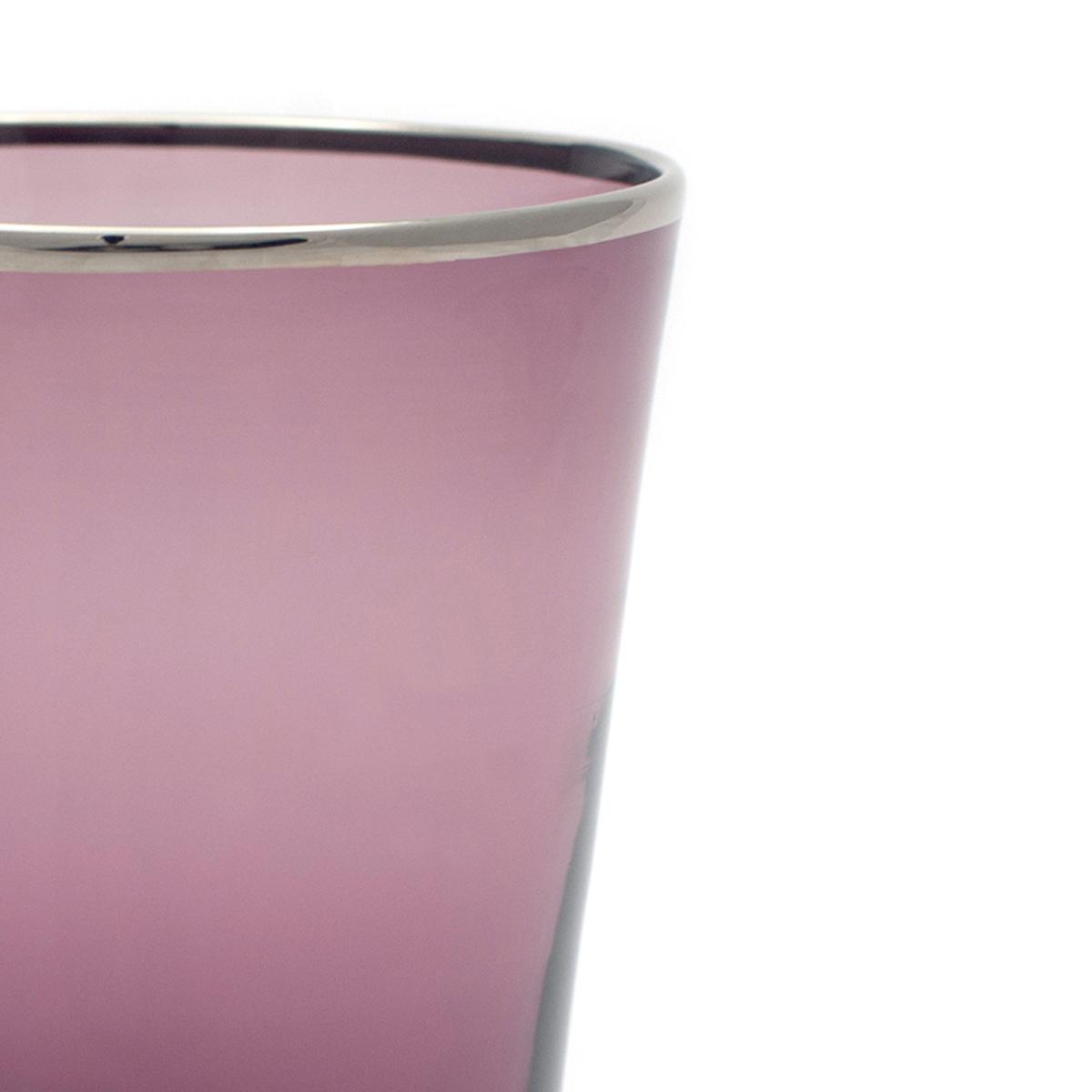 vaso_glass_wine_murano_platinum_rim_design_giberto_handmade_detail