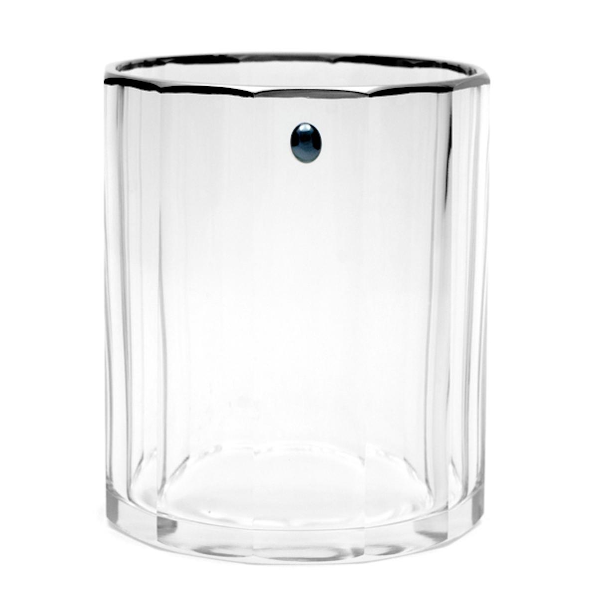 vera_water_glass_handmade_designer_giberto_luxury_platinum_rim_precious_stone