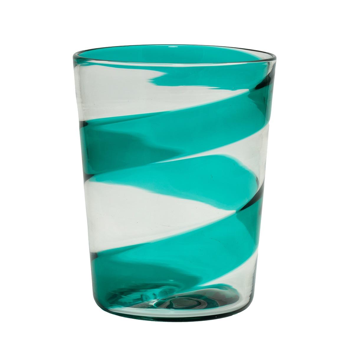 veronica green murano glass crystal